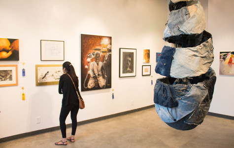 Student art praised in annual Atkinson Gallery exhibition
