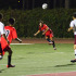 Vaqueros midfielder Enrique Fernandez (No. 8) shoots over the defense during City Colleges first win of the season against the Pasadena Lancers, Tuesday, Sept. 16 at La Playa Stadium. The Vaqueros won the game 2-1.