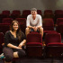 City College international students Joakim Leopold (right), from Sweden, and Ita Laksmini Wiyantini, from Bali, Indonesia, are majoring in theater arts, and hang out in the Garvin Theatre Tuesday, Oct. 14, at Santa Barbara (Calif.) City College. Joakim's dream is to be a movie star, and Laksmini wants to be a part of a sitcom series.