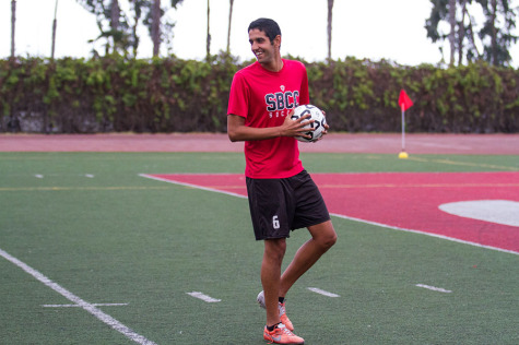 Emerging SBCC soccer star shines 6,000 miles from home