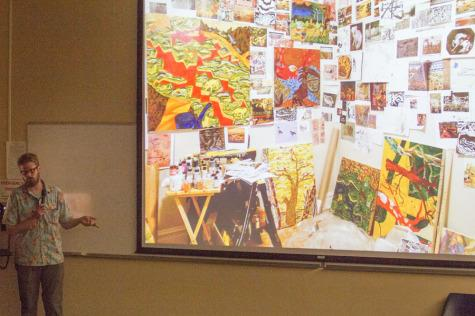 Art lecture series features abstract artist Carl Baratta