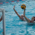 "City college women's waterpolo utility player, Abdiel ""AJ"" Gravatt (No.17) scores against Pierce College goalie Sarah Karp (No.1) and field player Isabella McNealy (No.6) during the game at San Marcos High School in Santa Barbara, Calif. on Wednesday, Oct. 22, 2014. The Vaqueros beat the Brahmas 12-6."