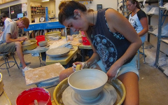 Ceramics student creates dinnerware for local restaurant
