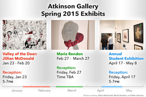 Atkinson gallery preparing to showcase new art exhibitions