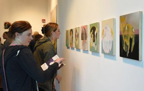 Local illustrator Maria Rendon showcase at Atkinson Gallery