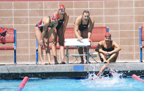 Women's swimming dominates at third conference competition
