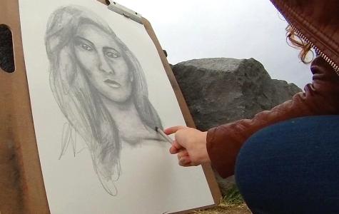 Acting Out: Krystal Krueger's Portrait Drawing