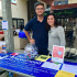 Planned Parenthood Generation Action club members Jack Kaiser and Katelyn Boisen, at an event on East Campus at City College; Courtesy of Santa Barbara City College Planned Parenthood Generation Action Facebook page.