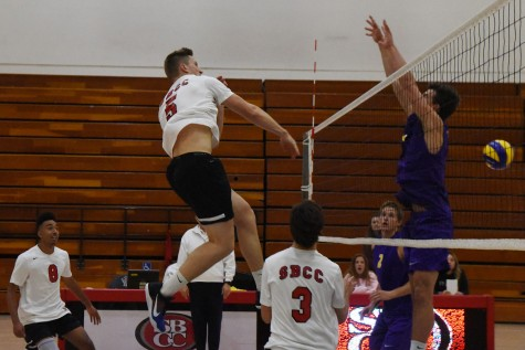 SBCC volleyball wins season opener 3-1 over Cal Lutheran