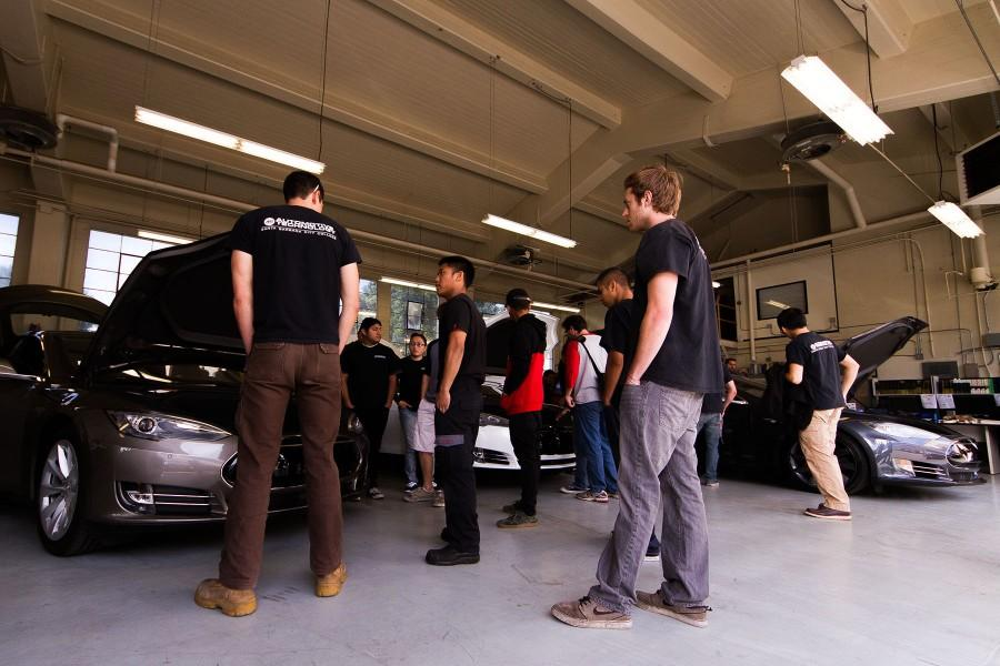 The Channels Tesla Motors Speaks To Students About