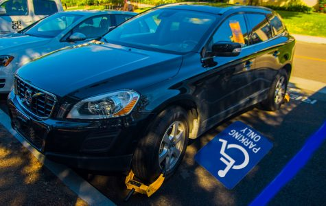 Campus Security cracking down on misuse of handicap placards