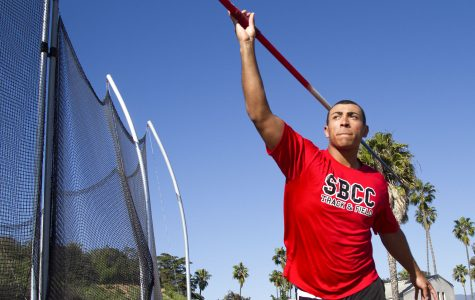 SBCC track and field thrower leads team in multiple events