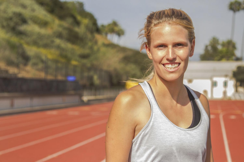 Swiss track athlete broke heptathlon school record
