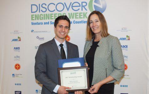 SBCC student, caretaker, mentor wins engineering scholarship