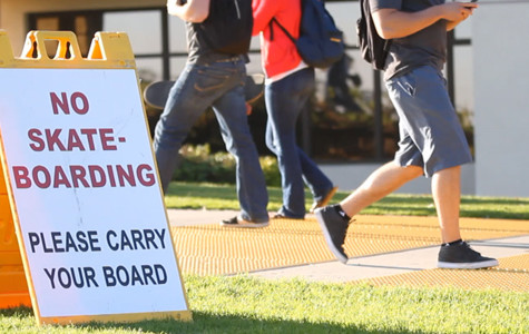 Video: Security hopes to reduce skateboarding on campus