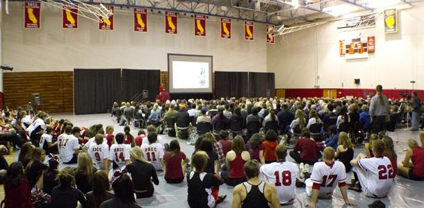 O'Connor tackles the importance of athletics in SBCC annual faculty lecture