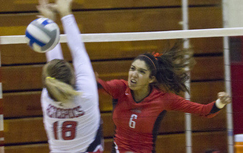No. 19 Women's volleyball swept by No. 10 Bakersfield in home opener