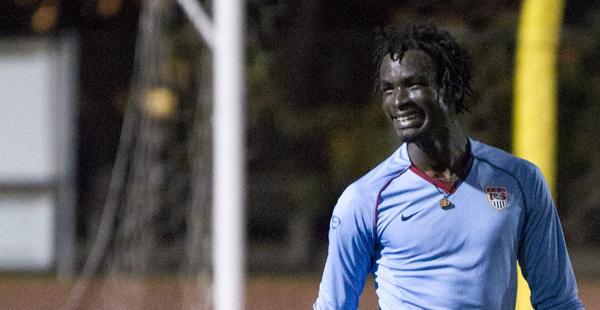 Kabogoza pictured on April 3, 2012 at La Playa Stadium.