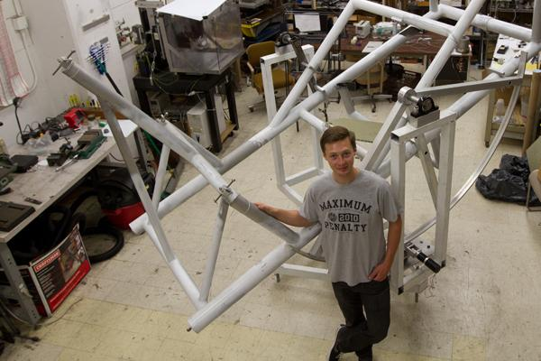 SBCC Physics Major Rory Barton-Grimley volunteers time to work on NASA project at UCSB