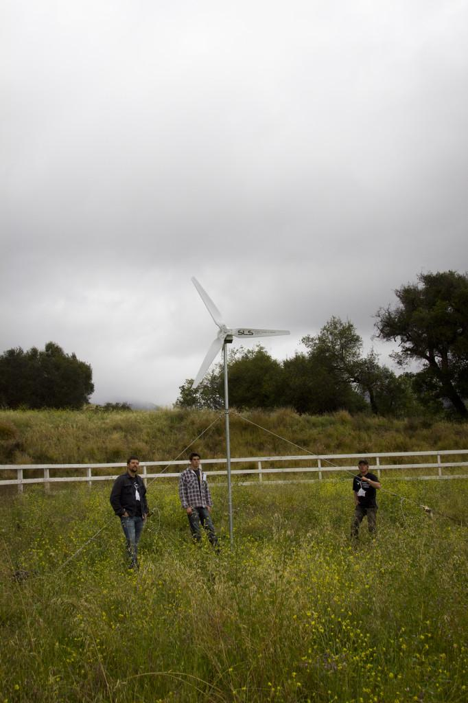 Engineering club's wind turbine to spin at Earth Day