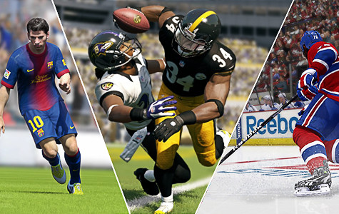 Sports video game reviews: Madden 13, FIFA 13, NHL 13