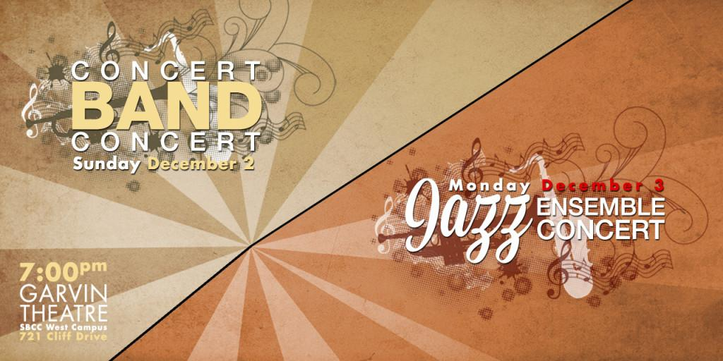 City College Concert Band and Big Bands to conduct jazz performances