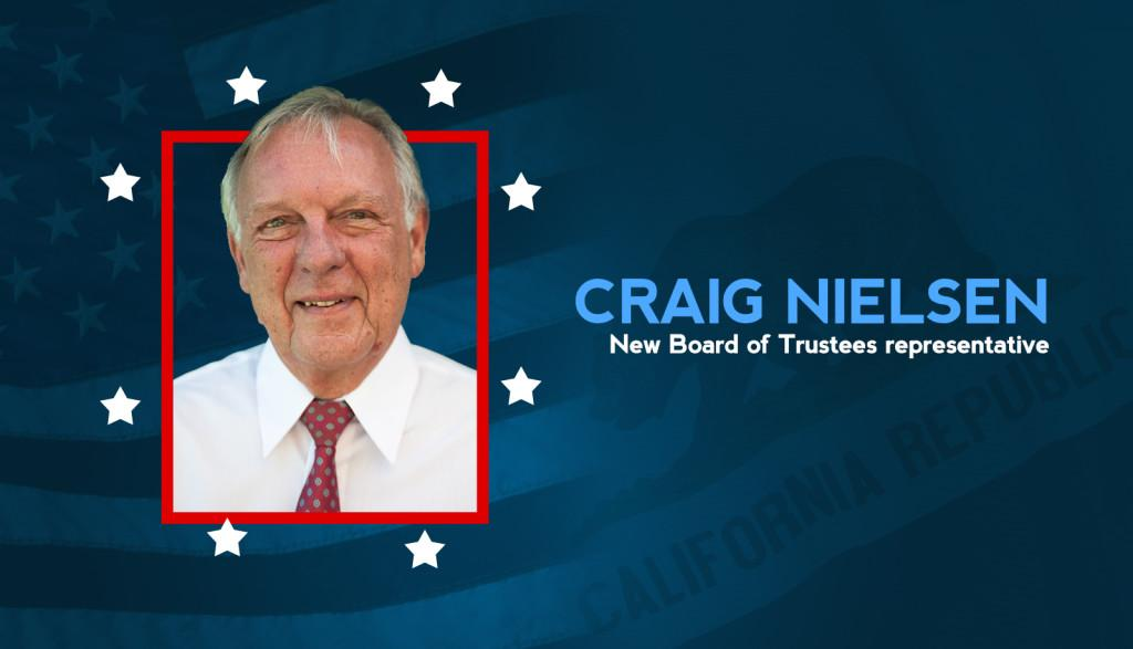 Craig Nielsen wins Board of Trustees position