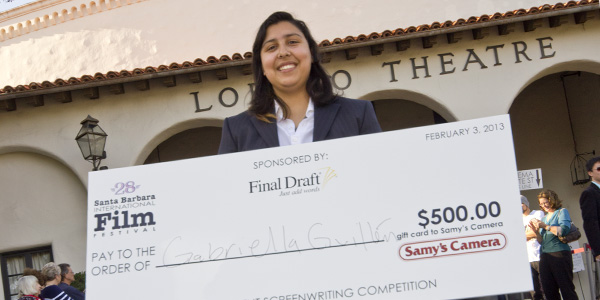 SBCC student wins award for script in film festival