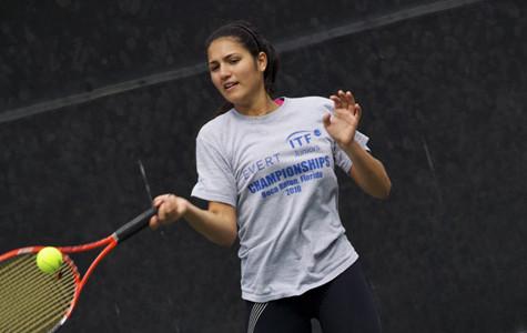 Freshman tennis player wins WSC title with perfect 13-0 season