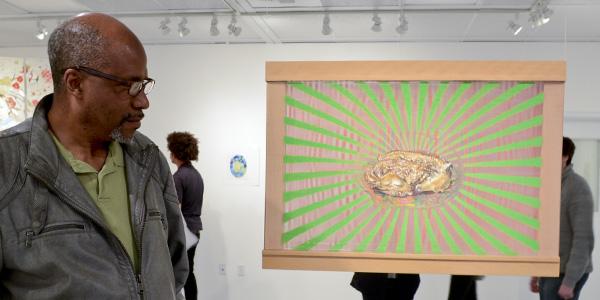 Pérez Pavón plays with angles, time in Atkinson's latest exhibit