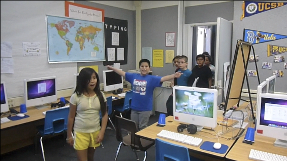 Brandon Elementary thanks City College for iMac computers donation through video
