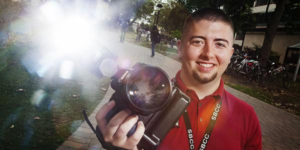 Wrestler turned photography student wins best of show