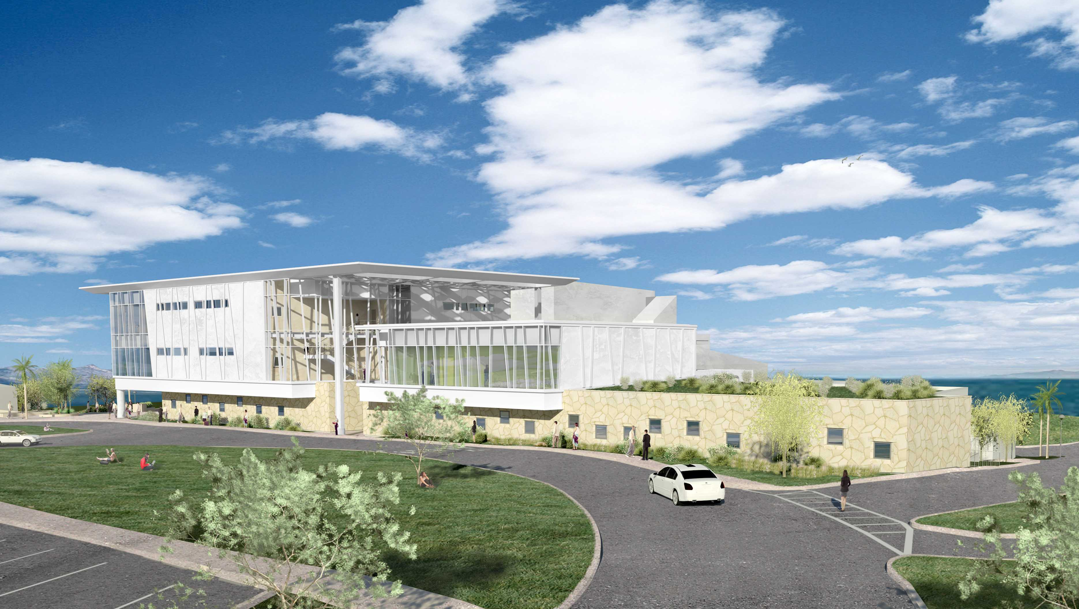 New west campus classroom building designs released the for New building design
