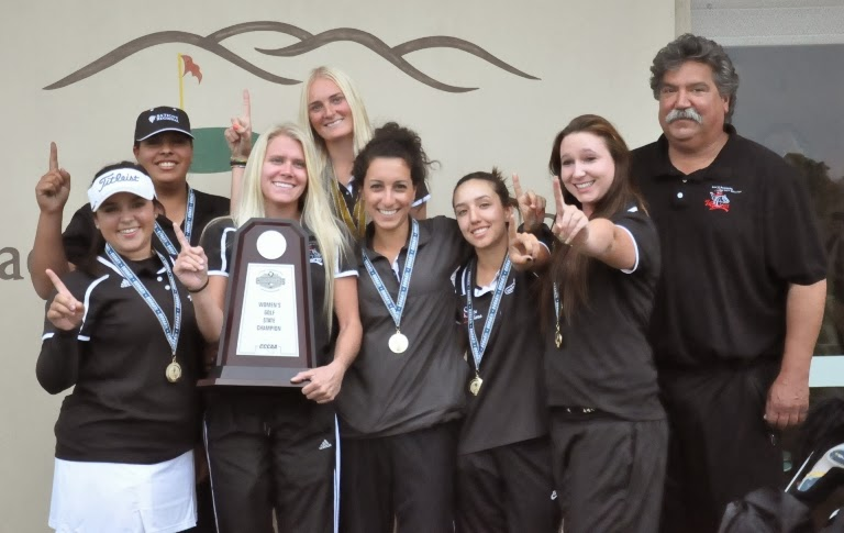 SBCC women's golf team win state title, Johansson wins individual