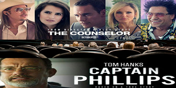 Movie reviews: 'The Counselor,' 'Captain Phillips'