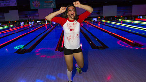 SBCC athletes and coaches come together for Halloween bowling