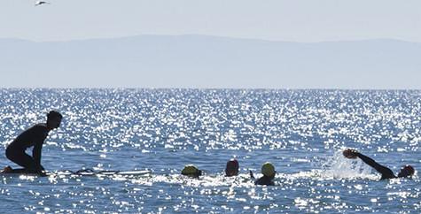 Unique ocean swimming class energizes students