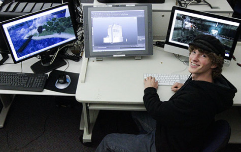 Virtual virtuoso: Student excels in video game design
