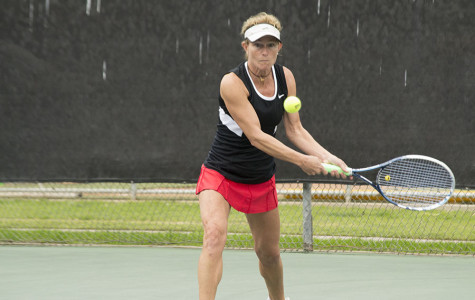 City College women's tennis drops home opener