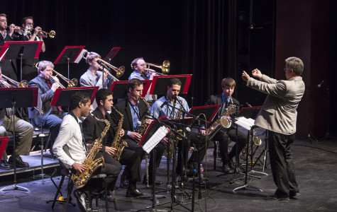 The Lunchbreak Big Band performs