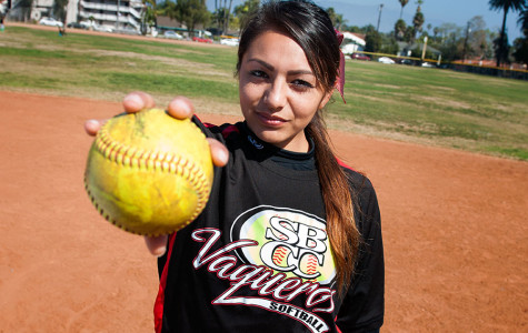 City College softball pitcher fueled by love of the game