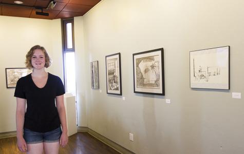 Gourmet Dining Room hosts exhibit of new student artwork