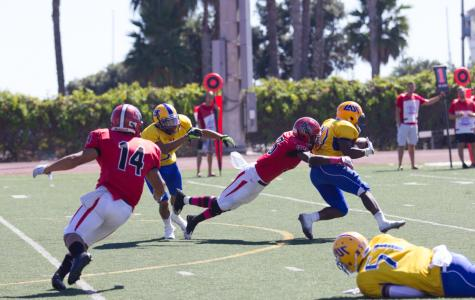 No. 18 SBCC football heats up at home; extends win streak to four
