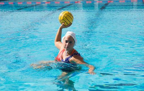 Argentine water polo player dominates U.S. waters