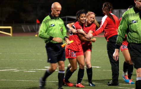 Grimaldo hat trick clinches women's soccer conference title