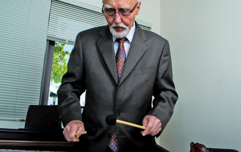 SBCC's Charles Wood passes 50 years of jazz to students