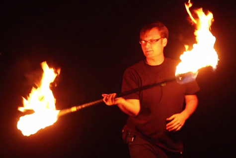 Acting Out: Fire Spinning