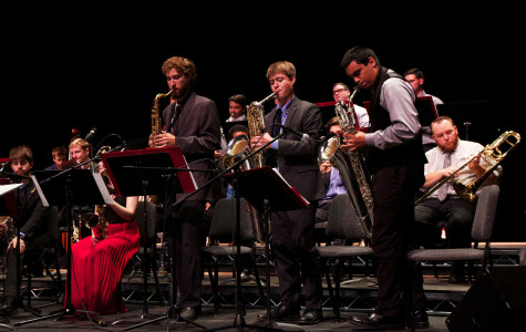 'Big Band Blowout' wraps up jazz semester at Garvin Theatre