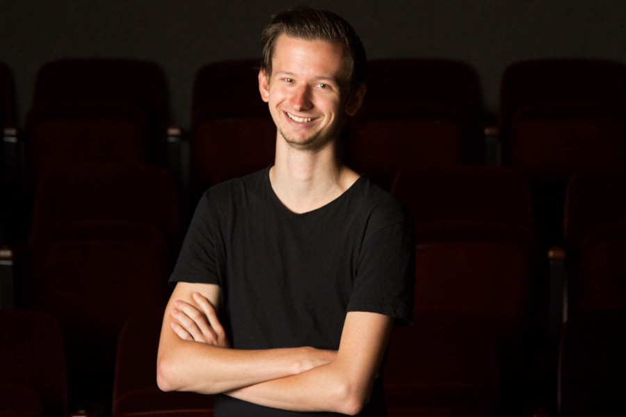 Gustav Högmo stars in City College's 'One Acts,' performing the first act from the comedy 'A Murder at the Howard Johnson's,' at 7 p.m. Monday, May 4, in the Garvin Theatre. 'When I came here and actually started taking classes, I realized that there is so much more to acting than just pretending to be someone else,' said Högmo. 'I just got even more interested in it.'