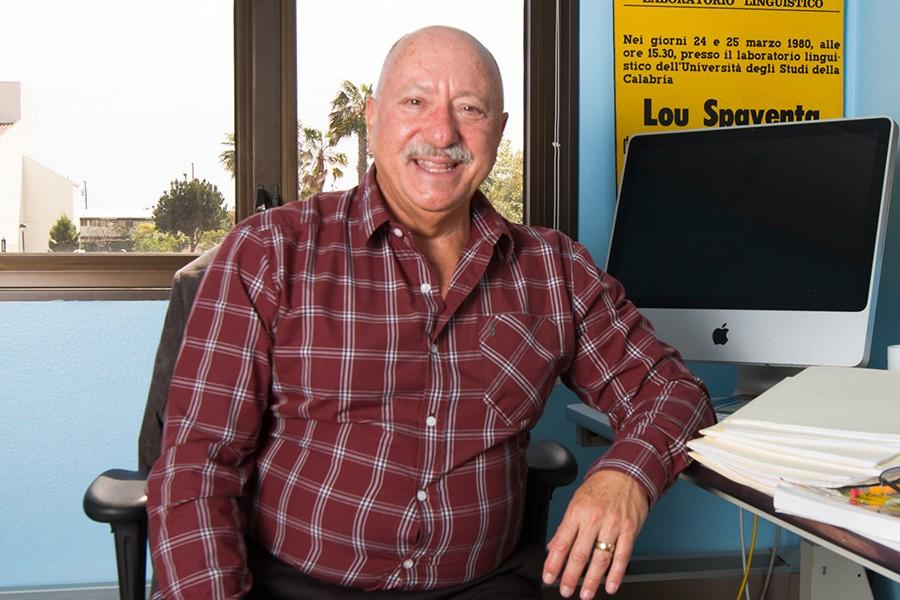 Lou+Spaventa+has+taught+at+City+College+for+14+years+and+is+finally+retiring+after+this+semester%2C+Thursday%2C+May+7%2C+2015%2C+in+Santa+Barbara%2C+Calif.